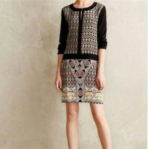 Patchwork/Floral 100% Silk dress Size 6
